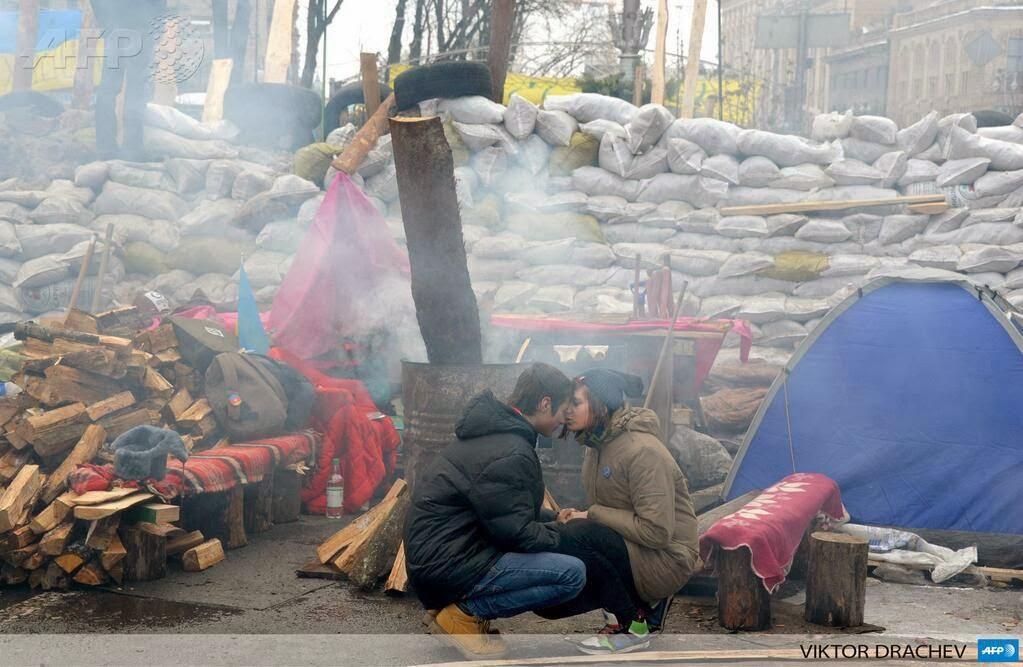 Кохання в епоху революцій, Україна
