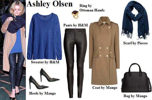 ashley olsen, olsen twins, style, fashion, sweater, winter