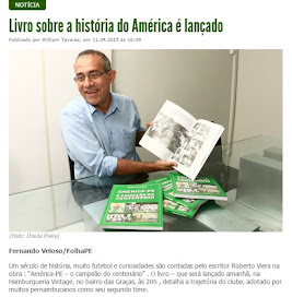 O LIVRO DO AMÉRICA-PE