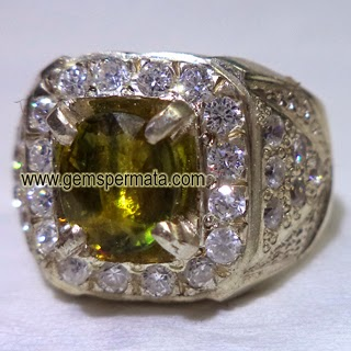 Natural Greenish Yellow Sapphire