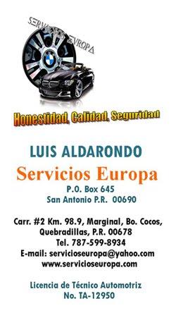 Servicios Europa