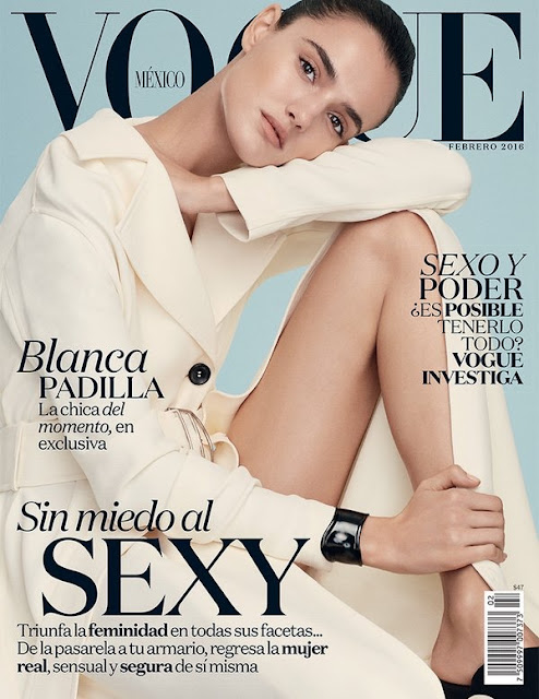 Fashion Model, @ Blanca Padilla - Vogue Mexico, February 2016