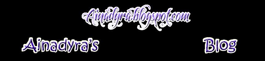 + ainadyra's online diary +