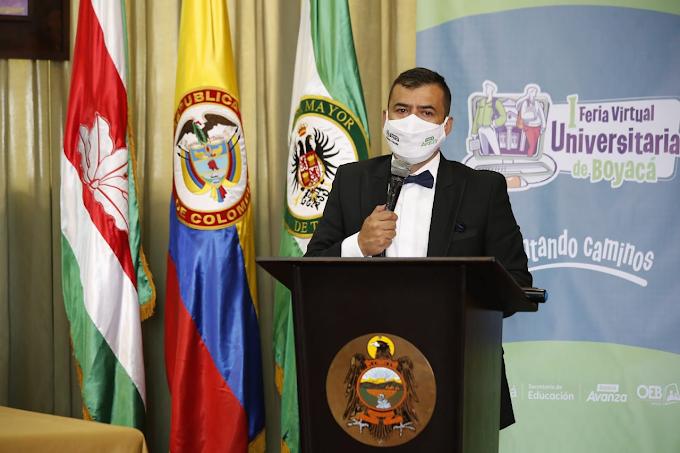 Gobierno de Boyacá premia a los mejores talentos estudiantiles que participaron en la Feria Virtual Universitaria 2020