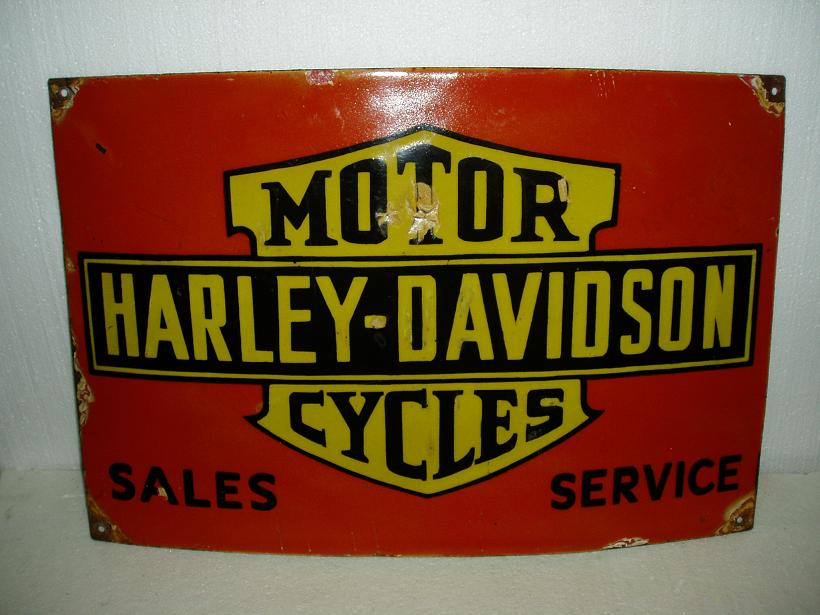 Old Harley-Davidson Signs