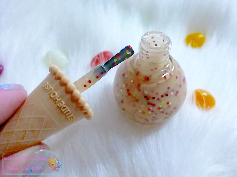 ETUDE HOUSE Sweet Recipe Ice-cream Nails #3 Apricot Candy