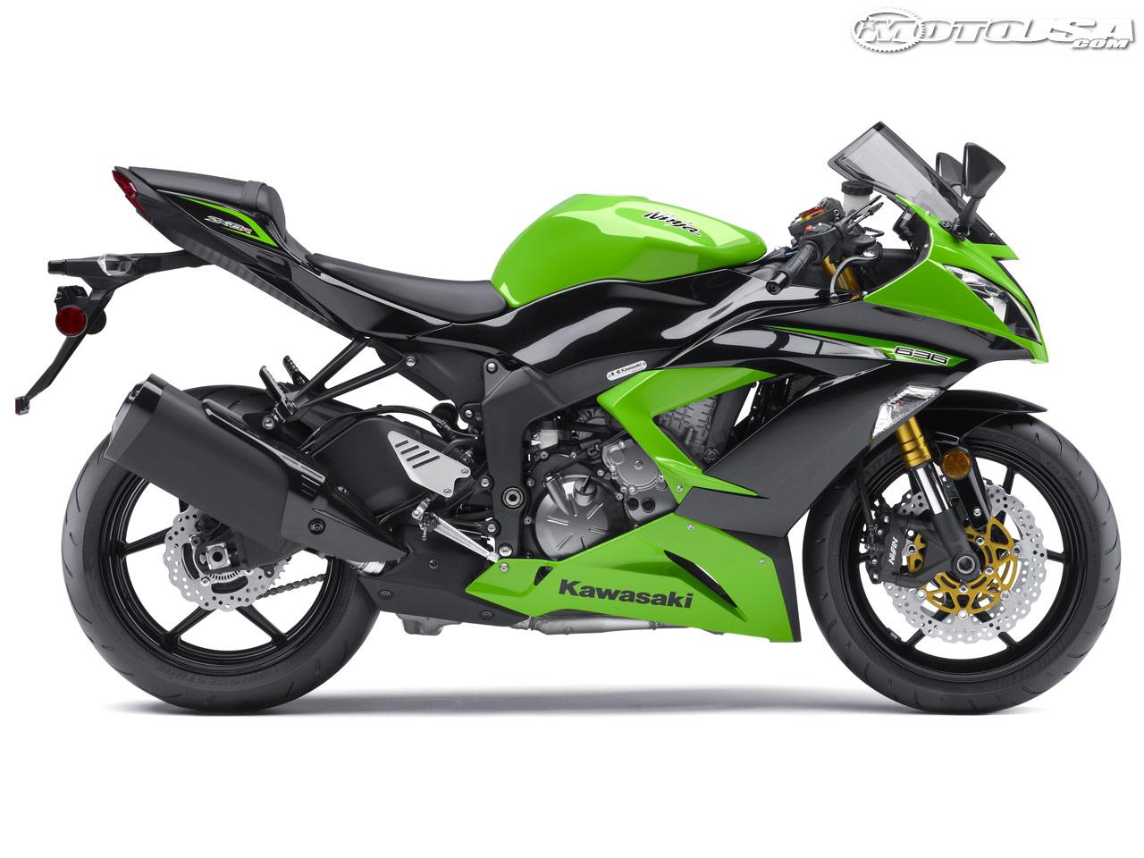 Kawasaki    New Lime Green