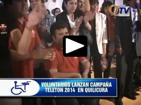 VOLUNTARIADO LANZA CAMPAÑA TELETÓN 2014 EN QUILICURA