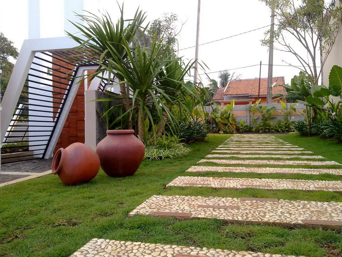taman cantik depan rumah gallery taman minimalis