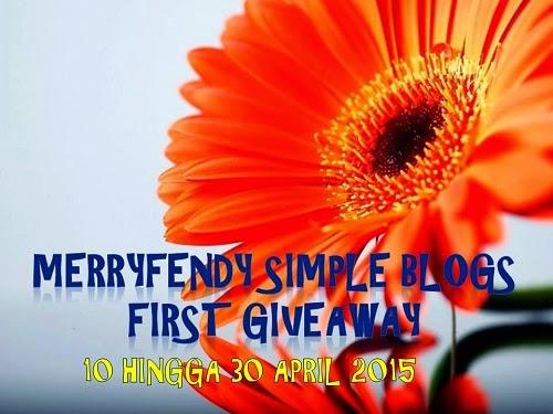 Jom Sertai Giveaway Mudah di MerryFendy Simple Blogs