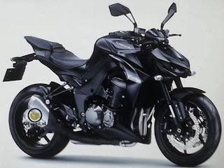 Kawasaki Z1000 terbaru muncul Hoooot!!!!