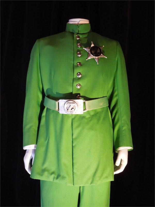 Return to Oz Emerald City policeman movie costume