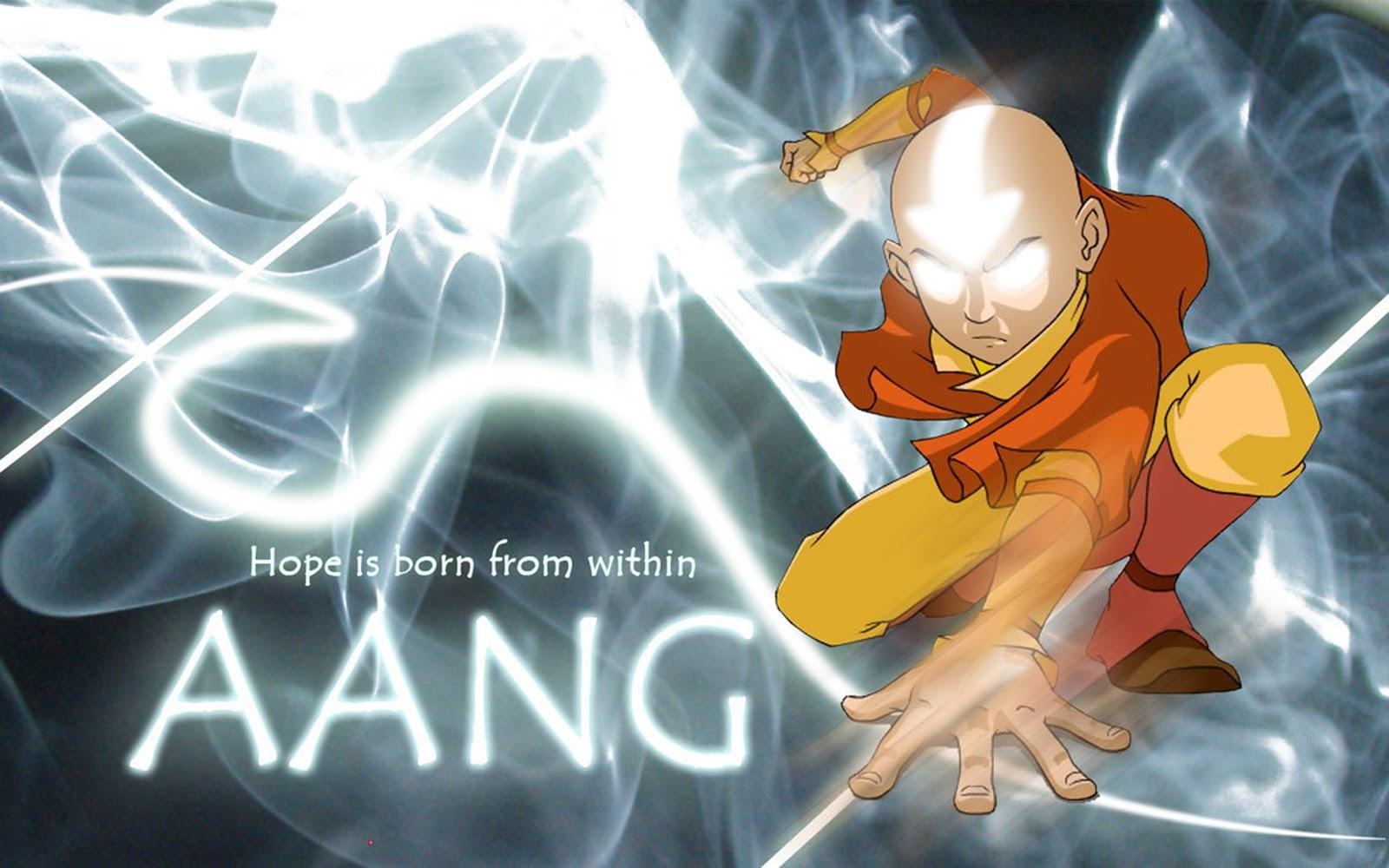 avatar aang wallpaper