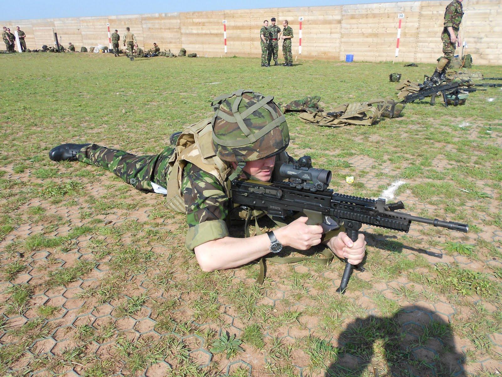 Ashley Fox at Lympstone Commando Training Camp (Photo: Ashley Fox/Facebook)