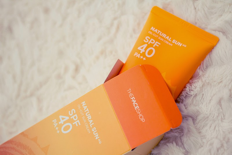 The Face Shop - Natural Sun Oil-Cut Sun Cream SPF 40 Review