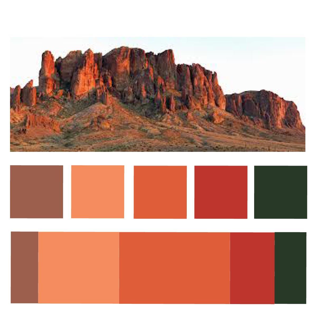 alexis schuknecht 3 menagerie project d4m color On old west color palette