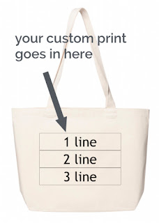 Customer Printed Bags from Planet Eco Bags