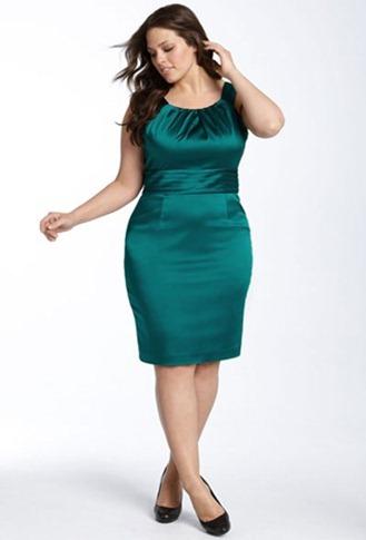 Modelos vestidos para personas gordas