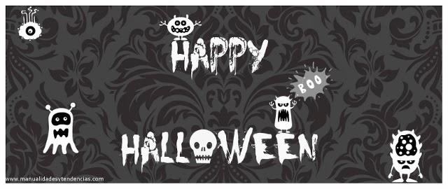 Cartel Happy Halloween / Happy Halloween tag / Happy Halloween affiche