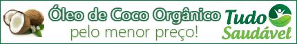 Óleo de Coco Extra Virgem pelo menor preço é na Tudo Saudável