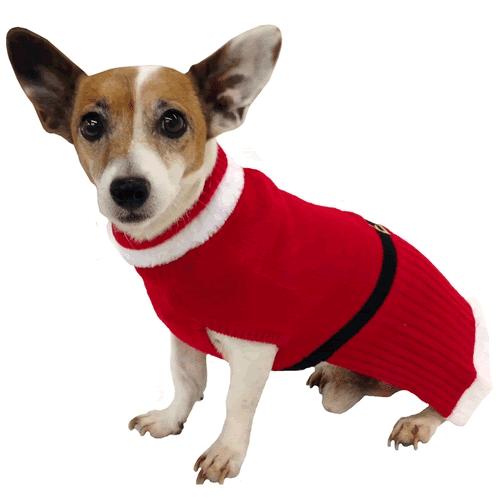 holiday santa sweater