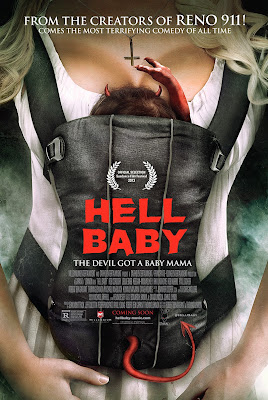 Poster Of Hell Baby (2013) Full English Movie Watch Online Free Download At Downloadingzoo.Com