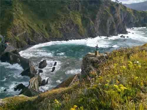San Juan de Gaztelugatxe. costa vasca
