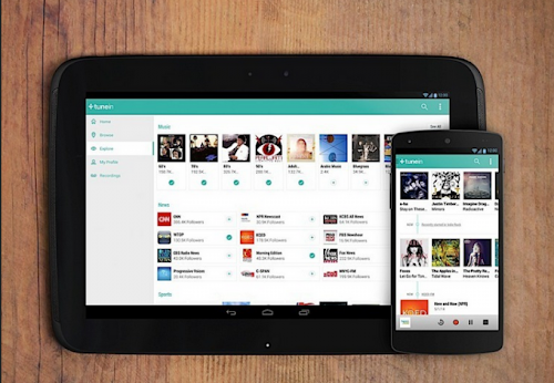 TuneIn Radio Pro v.12.8 Apk Gratis (Escuchar radio en android)