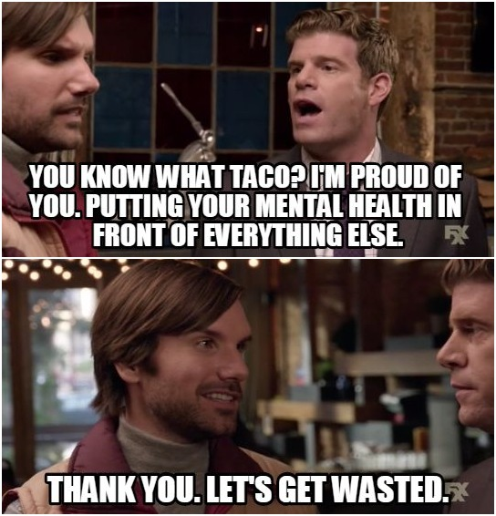 Taco%2BWasted breathtaking and inappropriate taco is taking his health seriously now