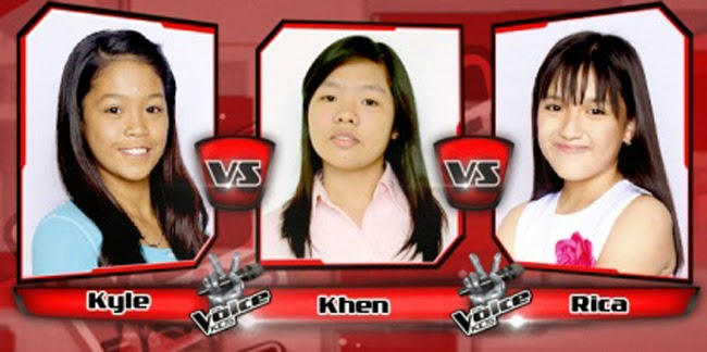 Kyle Won Over Rica and Khen for The Sing-offs of The Voice Kids Philippines