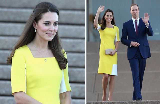 Kate wore Roksanda Illincic dress