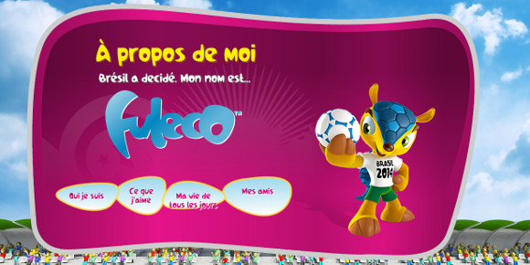 La mascotte du Mondial 2014