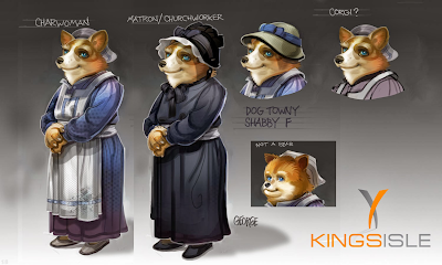 Pirate101 Marleybone Concept Art Corgi