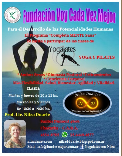 Clases de Yogalates