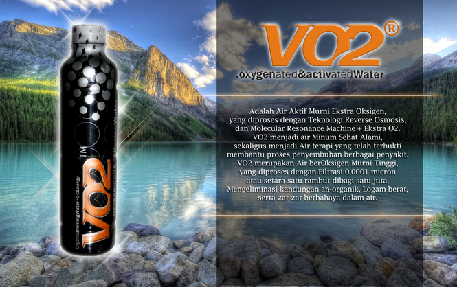 VO2 ORGANIC WATER - HIGH OXYGEN ACTIVE