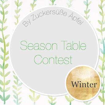 Zeigt Euren Winter Jahreszeitentisch und gewinnt tolle Preise