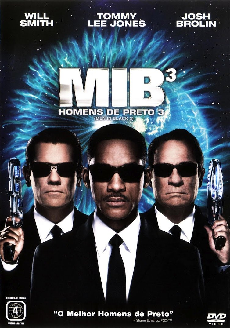 MIB: Homens de Preto 3 Download
