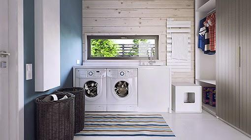 Ideas para las habitaciones de lavado y planchado no for Diseno de muebles para cuarto de lavado