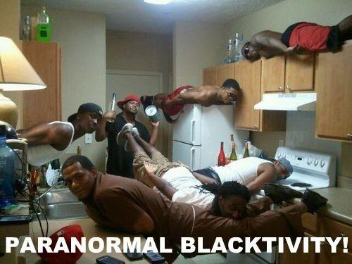 Planking - Paranormal Blacktivity