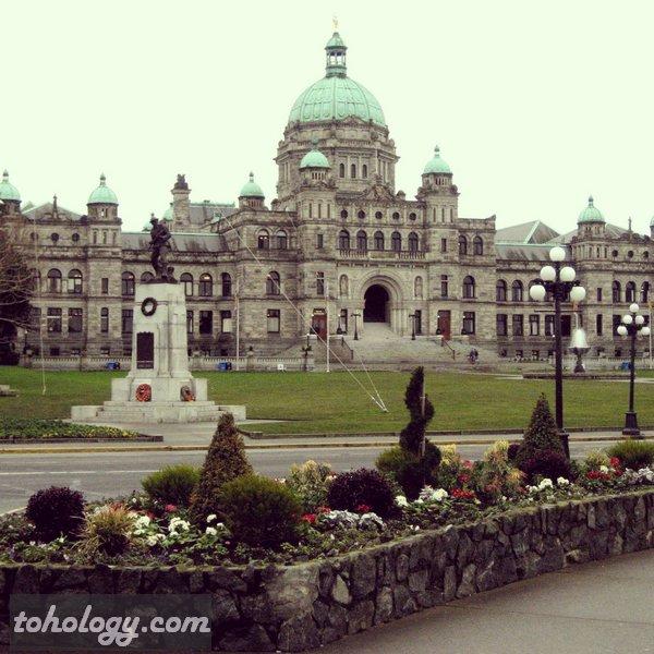 Parliament in Victoria, British Columbia, Canada