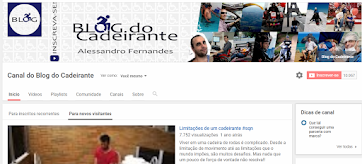 Canal do Blog do Cadeirante no Youtube