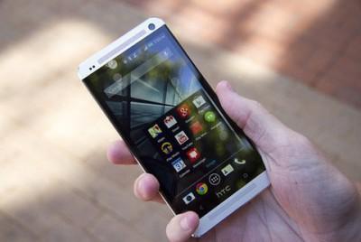Layar HTC One M8 Paling Responsif