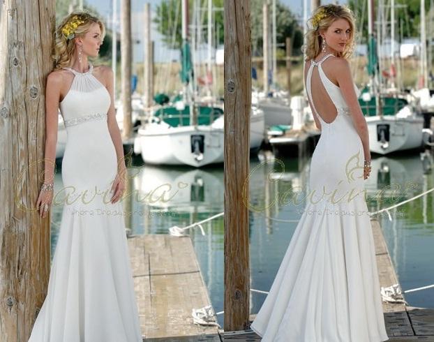 Carina casual Beach Wedding Dresses 2011