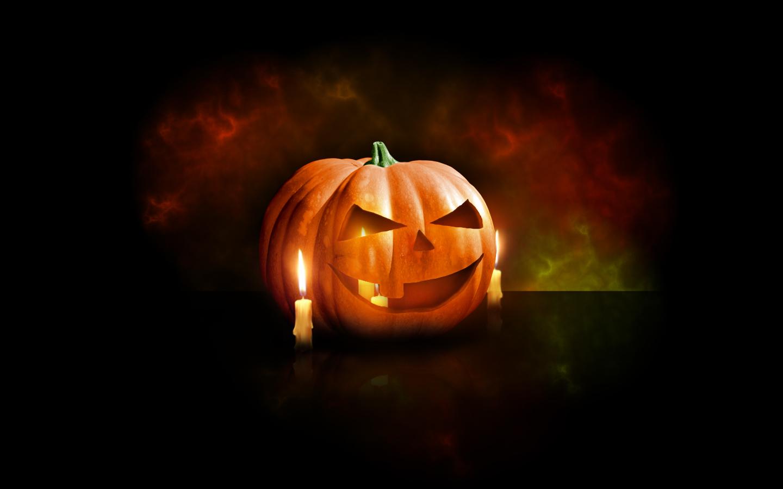 Halloween Pumpkin Wallpaper for Desktop
