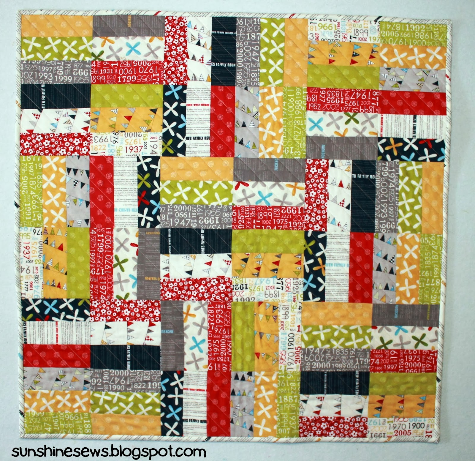 Fat Quarter Shop quilt