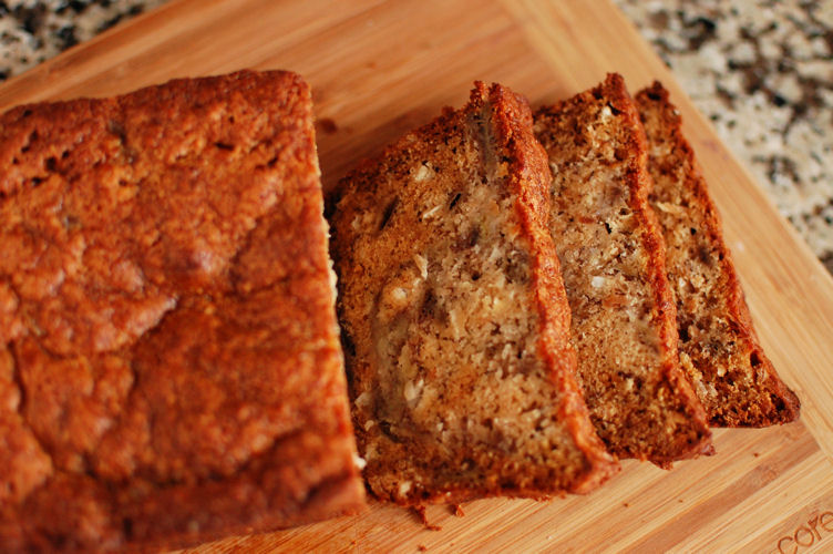Banana Coconut Bread | Beantown Baker