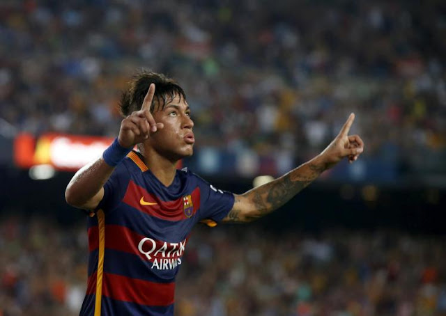 Neymar has been linked with a move to Manchester United. (Picture: Reuters)