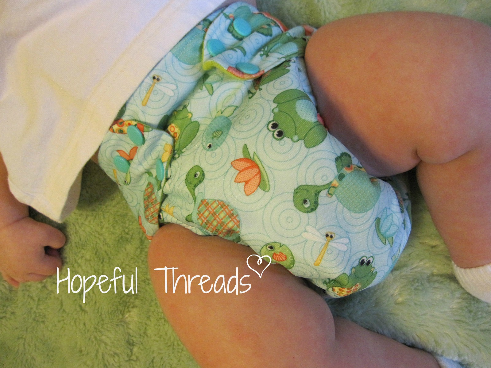 how to make babyville cloth diapers