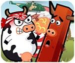 Bò sữa giận dữ, game hanh dong