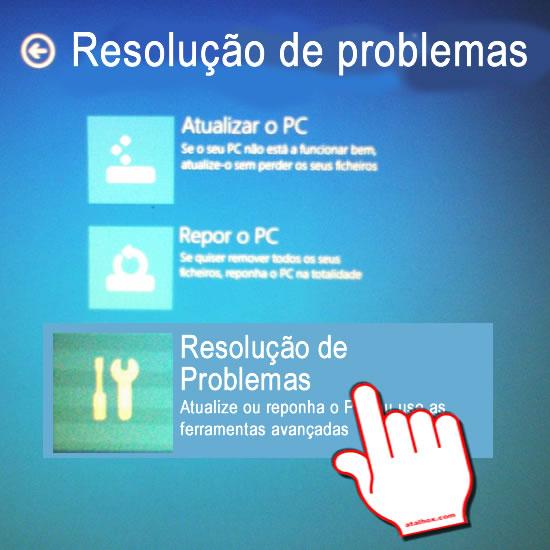 Boot Windows Resolução de problemas